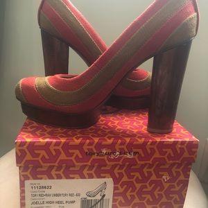 Used once, Tory Burch high heel